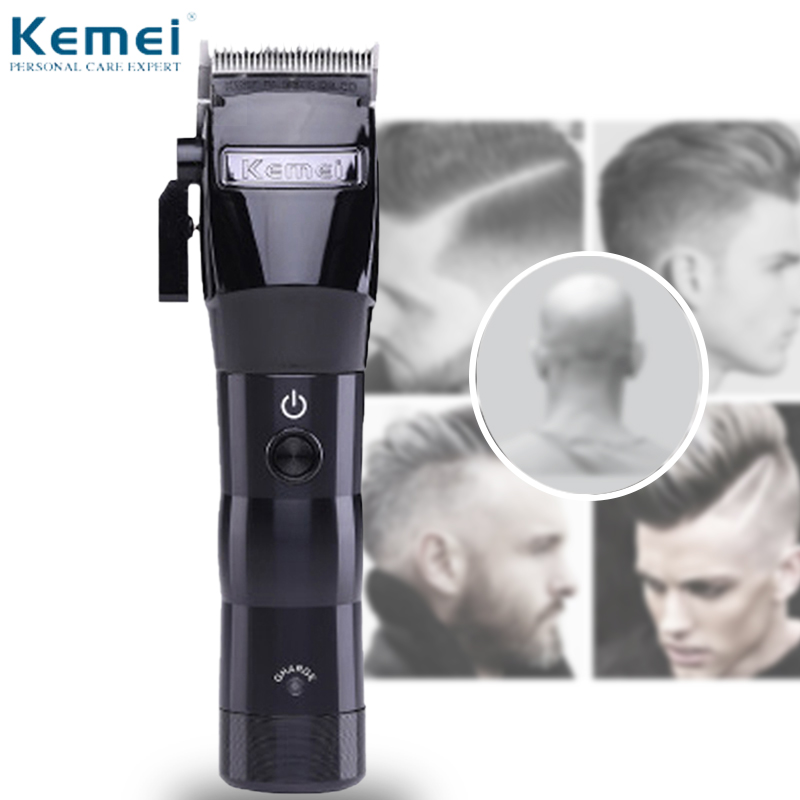 Carbon Steel Cutter Hair Clipper Electric Powerful Cordless Haircut Trimmer Styling Hair Trimmer Cutting Machine Tools Barber