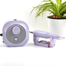 35000RPM 30W fioletowy elektryczna wiertła do paznokci Model rękojeść Manicure Pedicure pilnik do paznokci Bit Nail Art Equipment tanie tanio CN (pochodzenie) JMD-102PRO 30000 rpm 30 w Purple