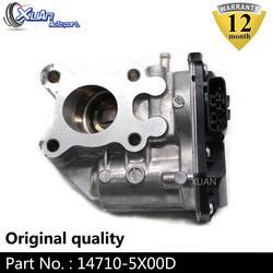XUAN wysokiej jakości 14710-5X00C EGR wydechowy zawór gazowy dla NISSAN NAVARA CABSTAR 2.5 LTR 2011-2018 14710-5X00D