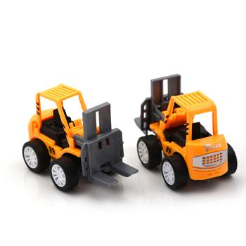 1 sztuk Mini edukacyjne zabawki dla dzieci inżynieria samochody zabawkowe wózki widłowe dla dzieci zestawy pojazdów Model pojazdu samochody zabawkowe tanie i dobre opinie Z tworzywa sztucznego CN (pochodzenie) Engineering Vehicle Model Car Toys 1 64 dont eat it Samochód