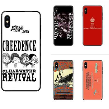 Creedence Clearwater Revival For iPhone 11 12 Pro 5 5S SE 5C 6 6S 7 8 X 10 XR XS Plus Max TPU Protective Cover Case image