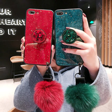 Marble Glitter  Cover Case For iPhone X XR XS Max 7 8 Plus Soft TPU Silicone Cover Cases For iPhone 8 7 6 6S Plus Back Capa цена и фото