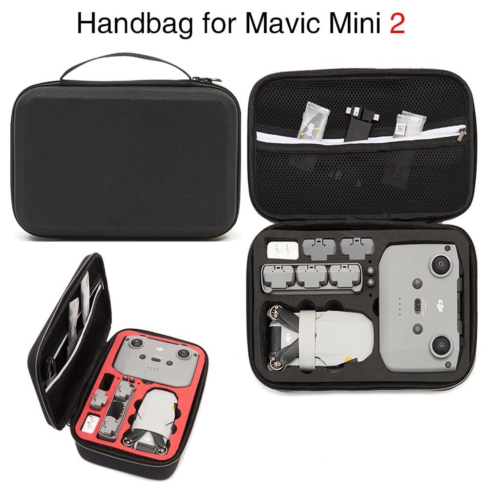 Dji mavic mini 2 saco de armazenamento portátil zangão bolsa ao ar livre carry box caso para dji mini 2 zangão acessórios