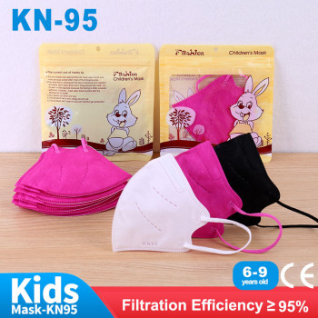 50-100pcs Mask For Children KN95 Kids FFP2 Mask Child CE Masque Protective Children's Fabric Mask FPP2 KN95 Mascarillas Niños недорого