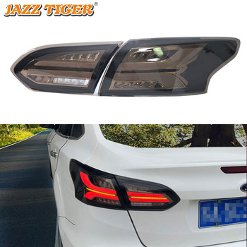 Car LED Tail Light Taillight For Ford Focus 3 MK3 Sedan 2015 - 2018 Rear Fog Lamp + Brake Light + Reverse + Dynamic Turn Signal