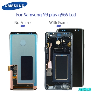 Image 1 - Replacement With Frame For Samsung S9 plus G965 965F s9 g960 g960f burn in shadow LCD Display Digitizer Touch Screen