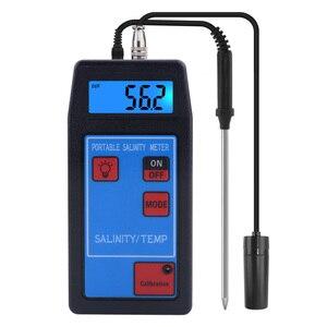 Сменный зонд для аквакультуры, измеритель солености бассейна, портативный цифровой аквариумный прибор для измерения температуры питьевой ...