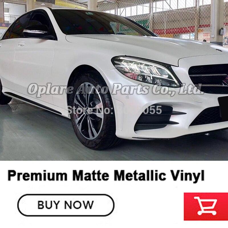Glossy Glitter Pearl Metal Mirror Chrome Vinyl Wrap Car Paint Sticker T Grey CF