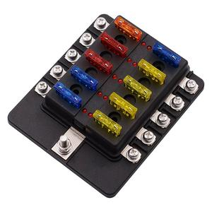 Cs-579A3 1 In 10 Out Fuse Box With Led I
