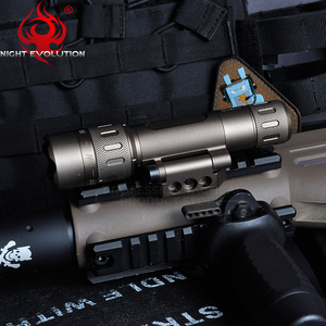Image 3 - Night Evolution Tactical Flashlight WMX200 Red IR Light Rifle Fold Mount Hunting Lamp Gun Weapons Light NE08036