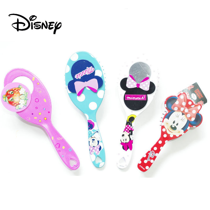 Disney Cartoon Massage Baby Kids Comb Cute Fashion Lovely Hair Brush Handle Tangle Curly Hair Care 2020 New Anti Static Designer Brushes Combs Aliexpress