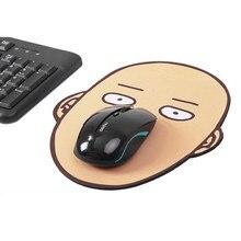 1 pçs bonito anime um soco homem borracha mouse pads adoráveis calvo legal mesa de escritório tapete cosplay figura brinquedos presentes