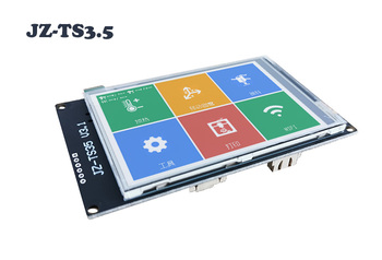 2K 3.5 inch multilingual Full Colored JZ-TS35 v3.1 Touch Screen Display WIFI AUTO shutdown Marlin SD for 3D Printer DIY parts