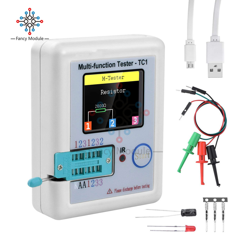 3.5 Inch (160*128) Colorful Display Multi-functional TFT Backlight Transistor LCR-TC1 Tester For Diode Triode Capacitor Resistor