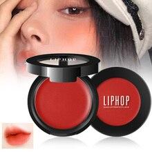 3-in-1 Matte Eyeshadow Lipstick Blush Long Lasting High Pigmented Makeup Blush C
