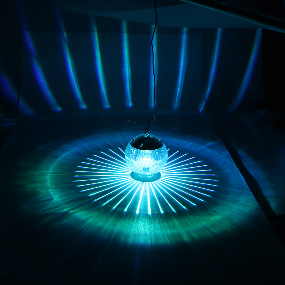 Solar LED Floating Light Colorful Water Drift Lamp Outdoor Water Fountain Decor
