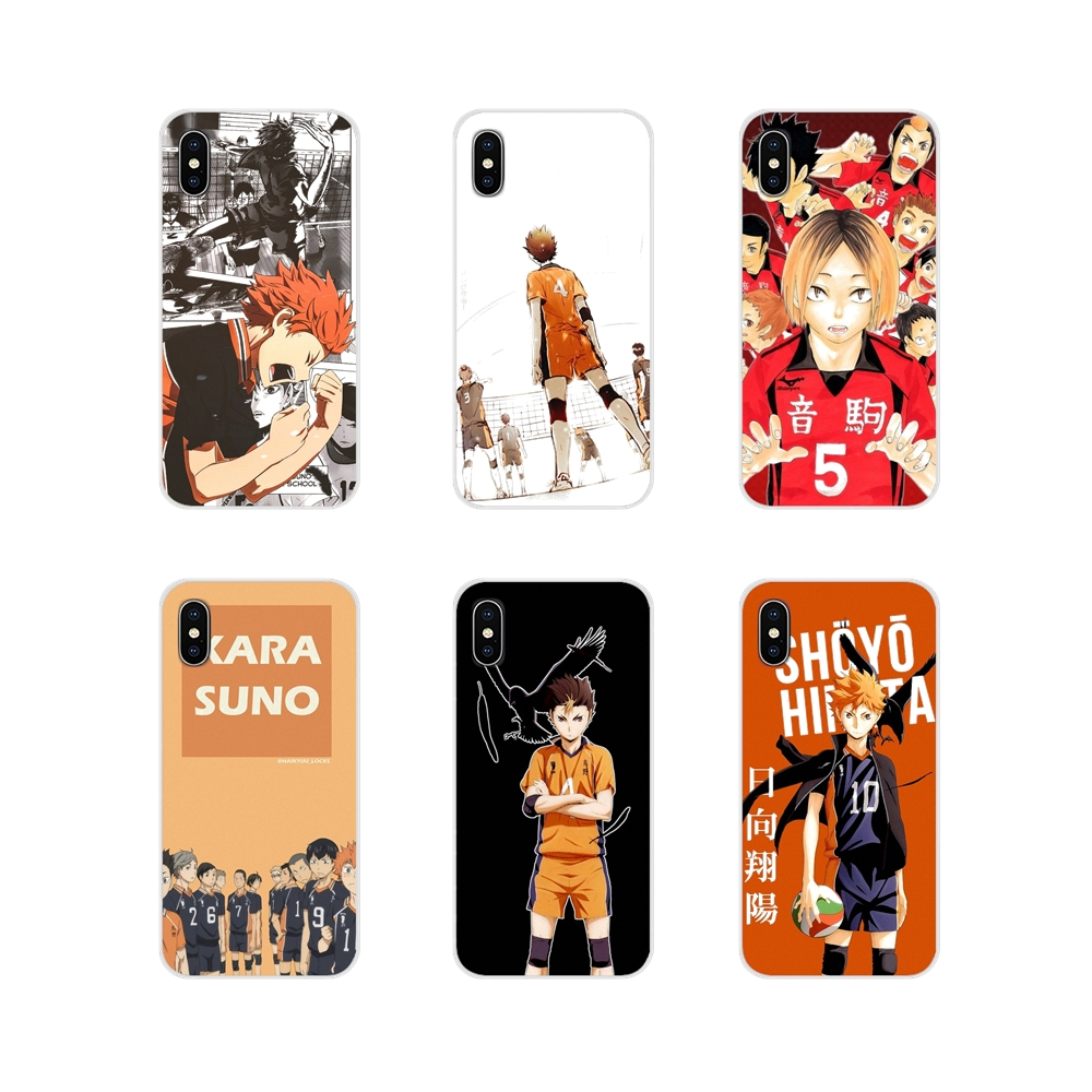 new volleyball <font><b>anime</b></font> haikyuu For <font><b>Xiaomi</b></font> Redmi 4A S2 Note 3 3S 4 4X 5 Plus 6 7 6A Pro Pocophone F1 Accessories Phone <font><b>Cases</b></font> Covers image