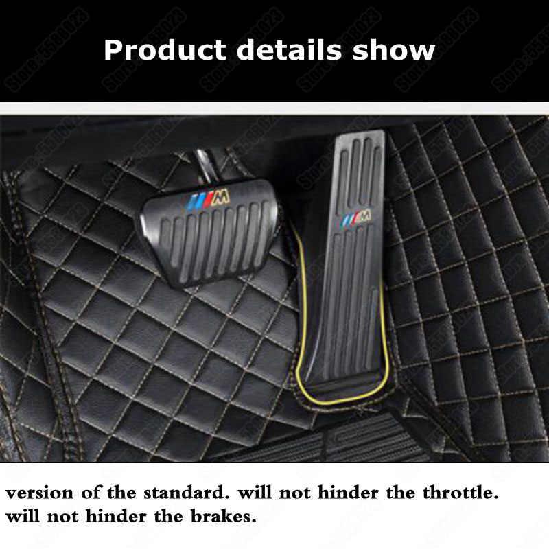 Alfombrillas de coche para BMW M2 M3 M4 M5 M6 3GT 5GT I3 personalizado todo el tiempo alfombrilla de suelo sedán alfombra automotriz