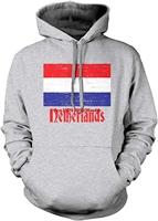 Autumn and winter hoodiesmen funny Printed hoodie sweatshirt Men's Flag of The Netherlands Dutch Country Flag Hooded Sweatshirt