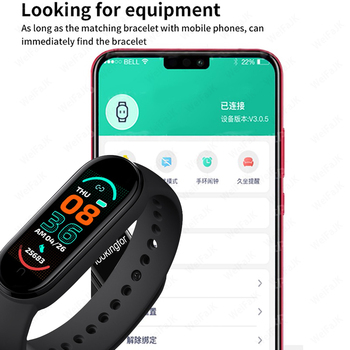 2021 New M6 Smart Watch Men Women Fitness Sports Smart Band Fitpro Version Bluetooth Music Heart Rate Take Pictures Smartwatch 2