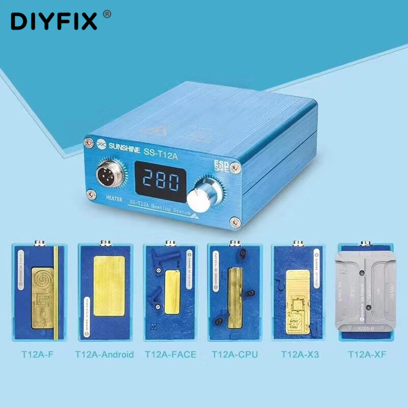 Soldering Station Motherboard Repair Tool Set For IPhone 6 7 8 Plus X XS Max Mobile Phone CPU NAND Layered Heating Platform