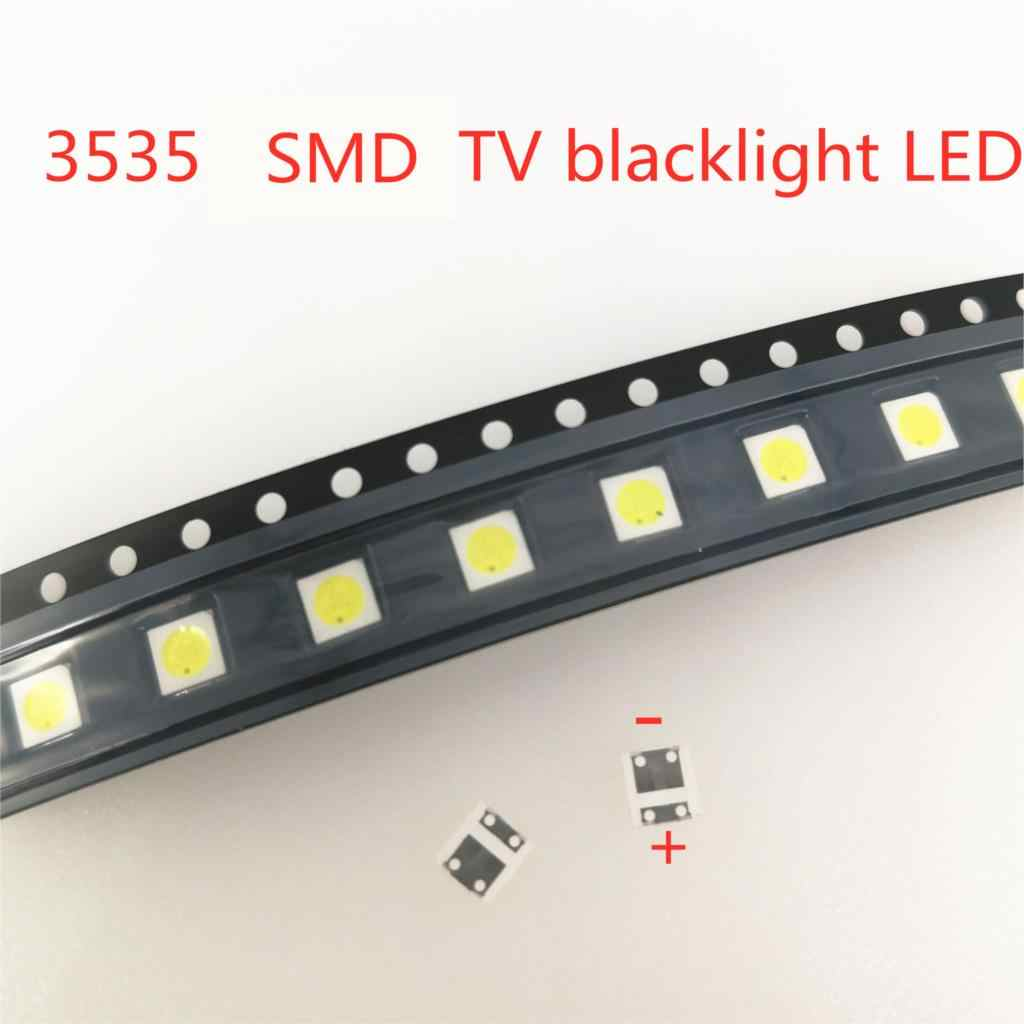 50 Pcs 3535 Dingin Keren Putih untuk TV LCD Perbaikan LG LED TV Backlight Lampu Strip Light-Emitting Diode SMD LED Beads 6V 2 W/3 V 1W