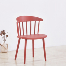 Nordic INS PP Plastic Windsor Chair Dining Chairs for Dining Rooms Restaurant Furniture Living Room Computer Desk Dining Chairs