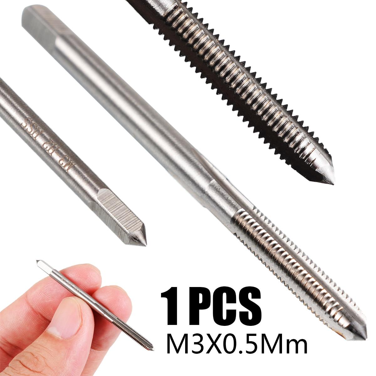 1PCS HSS M5 × 0.5 mm right Hand Thread  tap Threading Tool Metric M5*0.5