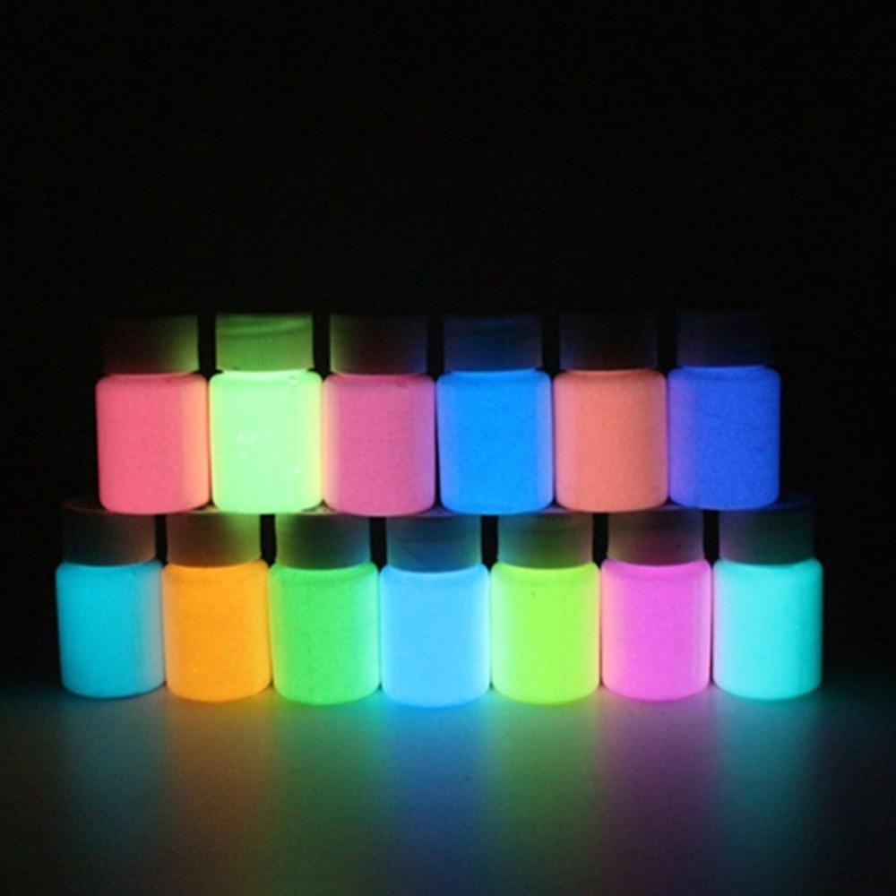 High-Gloss Luminous Paint Waterproof Long-Lasting Fluorescent Liquid Luminous Powder Paint Water-Based