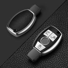 Nova completa selada tpu caso chave do carro capa para mercedes benz cls clk glk glk gla glc