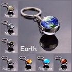 Earth Moon Keychain ...