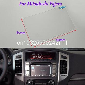 Internal Accessories 7 inch Car GPS Navigation Screen HD Glass Protective Film For Mitsubishi Pajero image