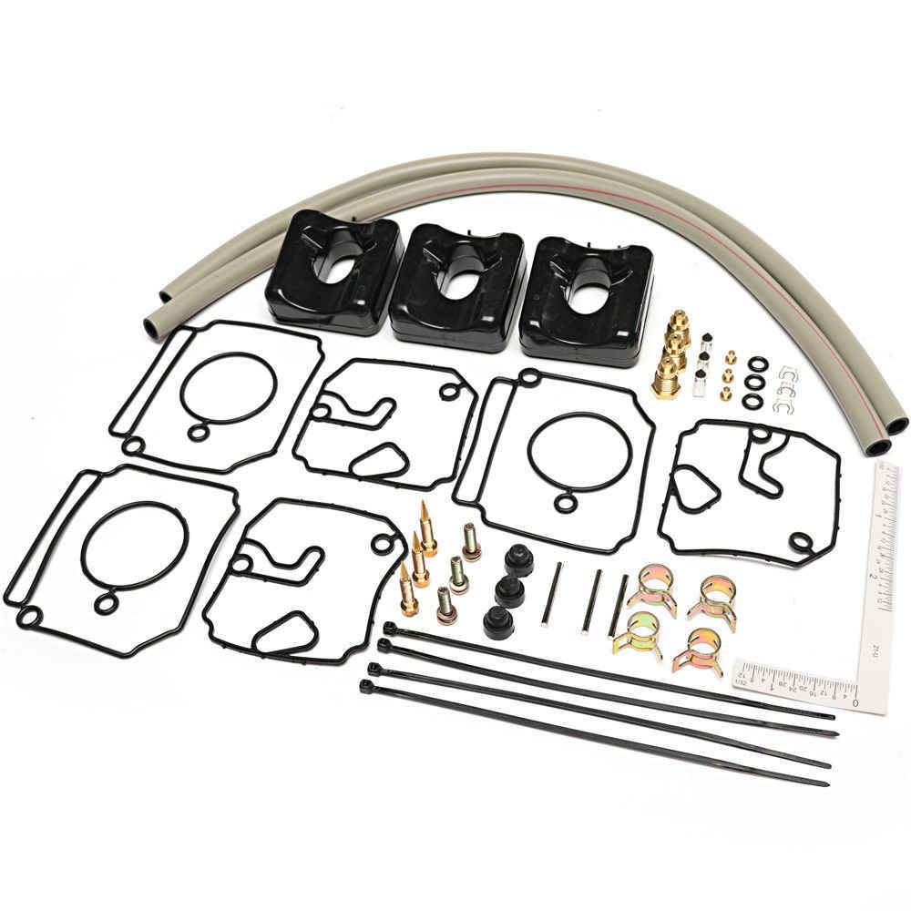 2-Stroke Outboard Engines Carburetor Repair Kit for Many Yamaha 40HP /& 50HP The ROP Shop
