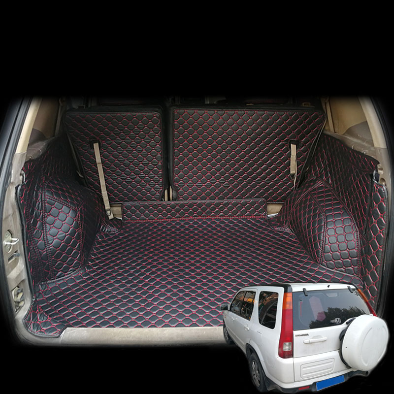 Lsrtw2017 Luxury Durable Car Trunk Mat For Honda Crv Cr-v 2002 2003 2004 2005 2006 2nd Cargo Liner Rug Carpet
