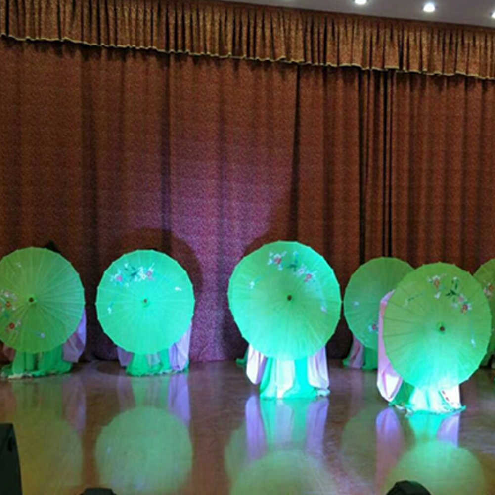 Cinese Giapponese di Seta Dell'annata Oilpaper Ombrelli Germogli di Femminile Parasole Danza Puntelli Leggero Accessori E Articoli per Pioggia Manico in Legno Del Mestiere