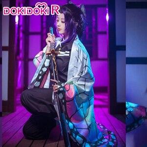 Image 1 - Disfraz de Cosplay de dokidoki r, disfraz de Kimetsu no Yaiba, Kochou Shinobu, Halloween, Kimetsu no Yaiba