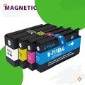 Совместим с HP 711 711 и HP 711XL, чернильный картридж для HP DesigJet T120 T520 T120 24/ T120 610/ T520 24/ T520
