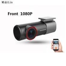 U700 Mini caméra de tableau de bord caché FHD 1080P, caméra avant arrière DVR détecteur avec WiFi FHD enregistreur vidéo moniteur de stationnement 24H