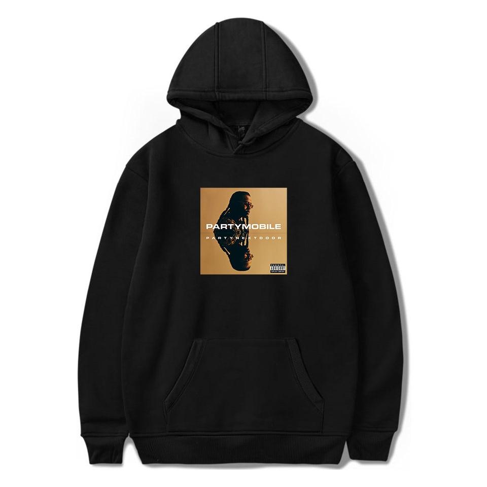 WAMNI Hip Hop 2020 PARTYNEXTDOOR Split Decision Album Hoodies Sweatshirts Men Women Pullover Unisex Fashion Costume Tracksuit