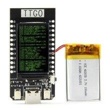 TT-GO T-DISPLAY ESP32 ЖК DIY энтузиаст макетная плата для Arduino WiFi и Bluetooth двойной модуль аксессуары