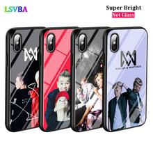 Black Cover Marcus Martinus for iPhone X XR XS Max for iPhone 8 7 6 6S Plus 5S 5 SE Super Bright Glossy Phone Case black cover japanese samurai for iphone x xr xs max for iphone 8 7 6 6s plus 5s 5 se super bright glossy phone case