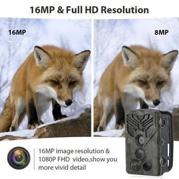 HC-810A Hunting Camera Scouting Trail Camera Wildview 1080P 16MP HD PIR Motion Night Vision Camera