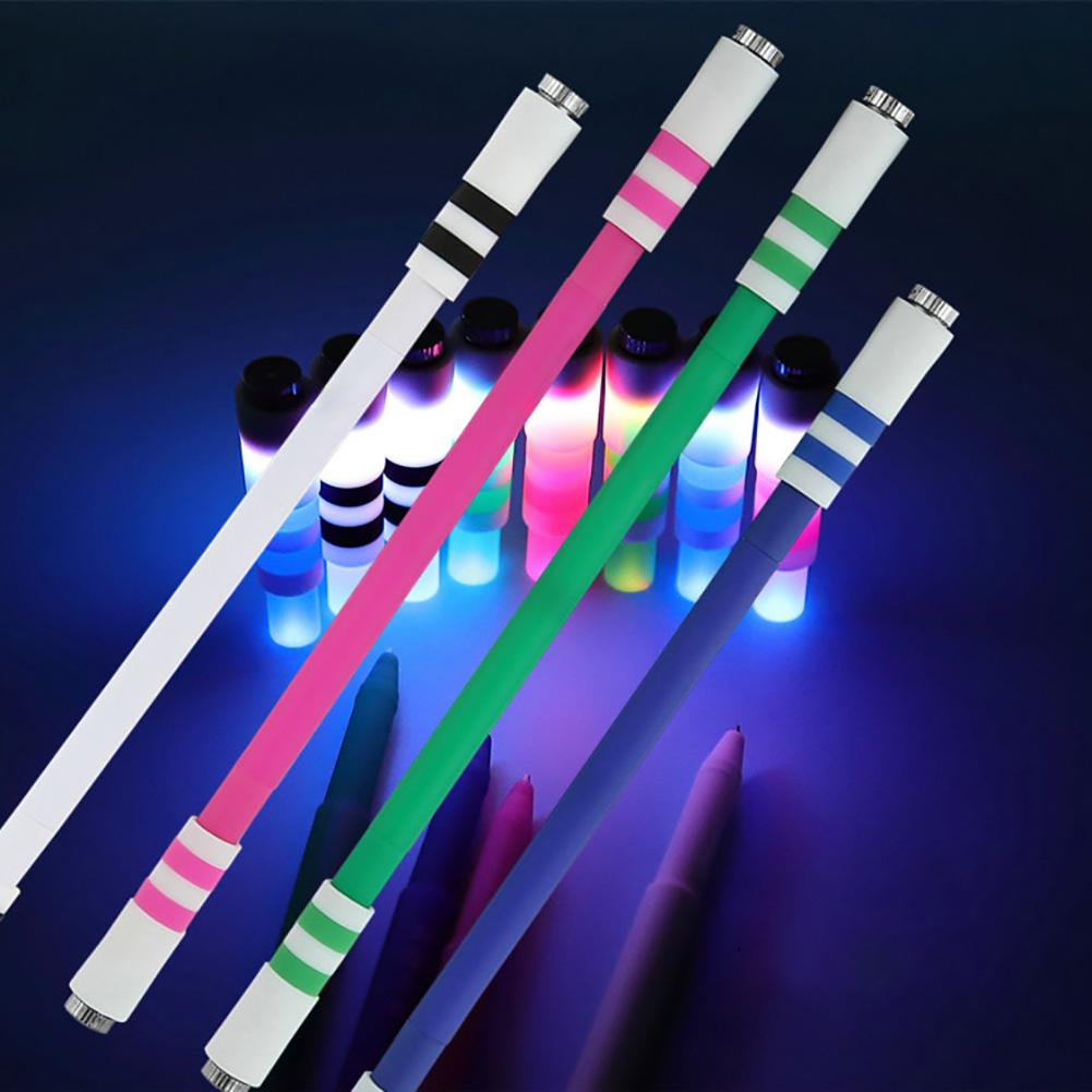 Wear Resistant Nonslip Luminous Rotating Pen Stress Reliever Toy
