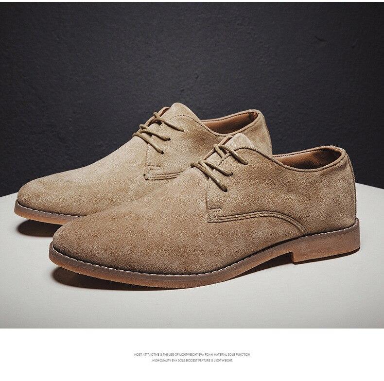 H1b8e1b394df641699b321c68a187fa31V Merkmak Fashion England Trend Casual Shoes Men Flock Oxford Wedding Leather Dress Men Flats Waterproof Men Shoes Plus Siz