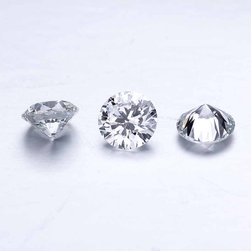 0.1ct 3.0mm DEF White Color Round HPHT Lab Grown Loose Diamond Vs1 Clarity Ring Pass Diamond Test Diamond For Ring
