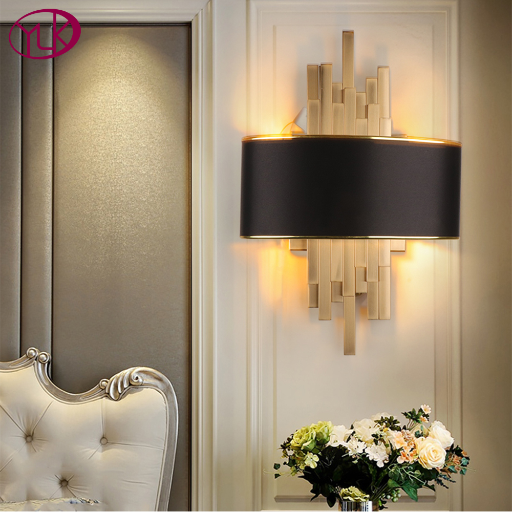 Youlaike Gold Wall Sconces Lighting