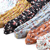 Muslim Printed Chiffon Hijab Scarf Islamic Hijab Modest Fashion Women's Fashion