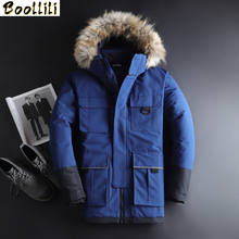 2020 Men #8217 s Winter Youth Handsome Jacket New Winter Down Jacket Men #8217 s new Long Section Trend Camouflage Clothes Casual Jacket cheap Loose 61912 zipper Full Epaulet Wave Cut Adjustable Waist Pockets Zippers Thick (Winter) Broadcloth Polyester Acetate