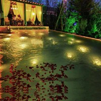 9x1w single color IP68 12V/24V Underwater Lamp Pool Lighting LED Swimming Pool Light with beam angle 15/30/45/60 degree