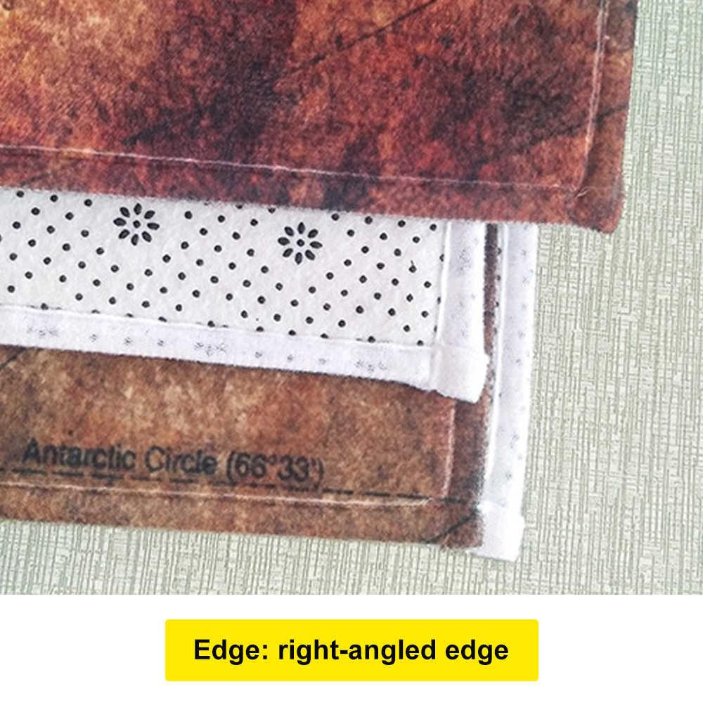 1 ud. Alfombra de cocina estera de grano de madera impresa alfombra antideslizante para sala de estar esteras de puerta decoración de entrada alfombra de suelo